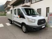 FORD Transit 350 2.0TDCi 170CV Cassonato doppia cab.7.P